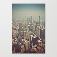 Windy City Canvas Print