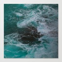 Big Sur Waves Canvas Print