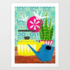 Papercranes Art Print