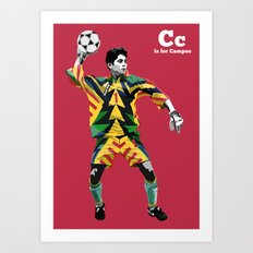 C is for Campos Art Print