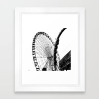 At The Fair: Round And R… Framed Art Print