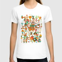 The Chipper Widget (Remi… Womens Fitted Tee White SMALL
