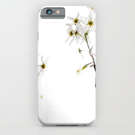 blossoming white iPhone & iPod Case