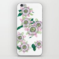 Passion flower iPhone & iPod Skin