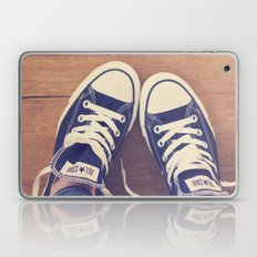Not Without My Chucks Laptop & iPad Skin