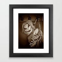Hanging Jack Framed Art Print