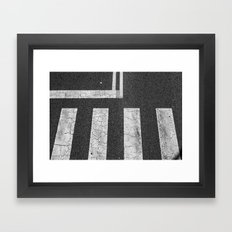 Asphalt Framed Art Print