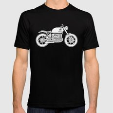 BMW R80 - Cafe Racer series #4 Mens Fitted Tee Black SMALL