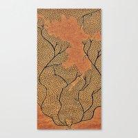 Canvas Print featuring Leafyhead by SmallIslandInTheSun