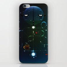 Self Portrait: Raid Boss, Coffee and Constellations iPhone & iPod Skin