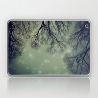 Alien Invader Trees Laptop & iPad Skin