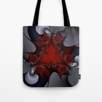 Red Blue And Silver Spur… Tote Bag