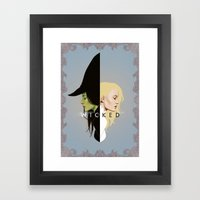 Wicked | Frame Framed Art Print