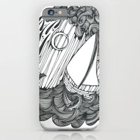 iPhone & iPod Case featuring Leviathan and Lonely by PiqueStudios