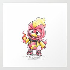Pyromaniac in Training Art Print