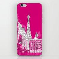 Glorious Paris - Pink iPhone & iPod Skin