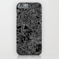 iPhone & iPod Case featuring White/Black #1 by The Bun