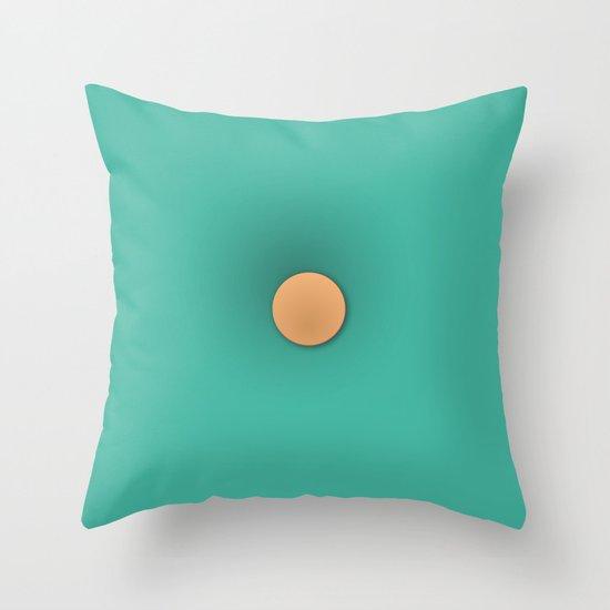 Button pillow Throw Pillow