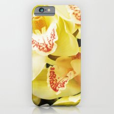 Yellow Orchids Slim Case iPhone 6s