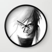 Grey Japanita Wall Clock