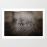 Oh What A Tangled Web We… Art Print