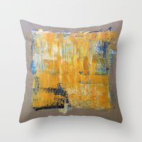 LINEN 4 Throw Pillow