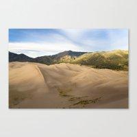 Great Sand Dunes Framed … Canvas Print