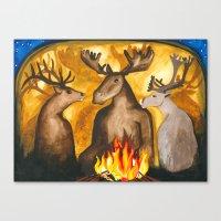 Gathering of Ancestors Canvas Print