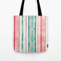Canyon Stripe Tote Bag