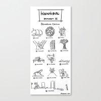 Hannibal - Season 2: Blo… Canvas Print