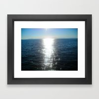 Horizon Framed Art Print