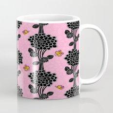 Flowered tree. in pink Mug