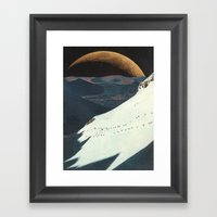 On The Bright Side Framed Art Print