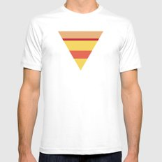Pizza Mens Fitted Tee SMALL White
