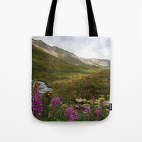 Fireweed & Fall In Alask… Tote Bag