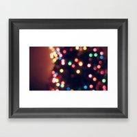 Merry Little Christmas Framed Art Print