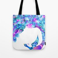 Peacock Fantasy Tote Bag