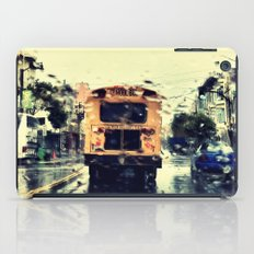 frisco kid // yellow bus iPad Case