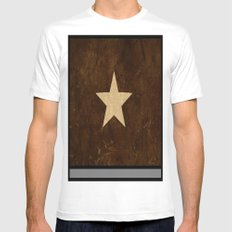 starry Mens Fitted Tee White SMALL