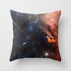 Ethereal Nebula Throw Pillow