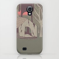 Galaxy S4 Cases featuring Watching you by Fernanda S.