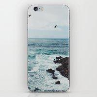 Sea Blue iPhone & iPod Skin