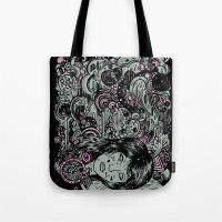Irregular Sleeping Pattern Tote Bag