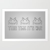 This Time It's War Art Print