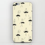 The Ballet Of Mustache iPhone & iPod Skin