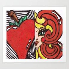 Strawberry Blonde (Image) Art Print
