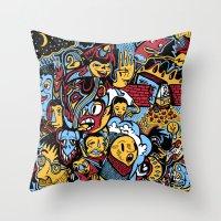 Doodle50 Throw Pillow