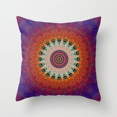 Mandala Harmony Throw Pillow