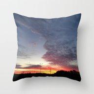The Sunrise. Throw Pillow