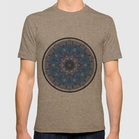Blue Eye 1 Mens Fitted Tee Tri-Coffee SMALL